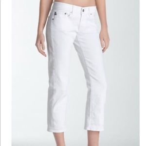 Adriano goldschmied tomboy crop size 26r